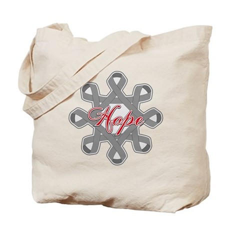 Brain Cancer Hope Unity Tote Bag