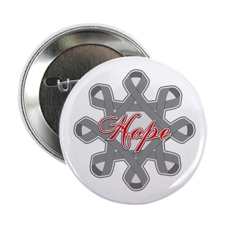 "Brain Cancer Hope Unity 2.25"" Button (10 pack)"