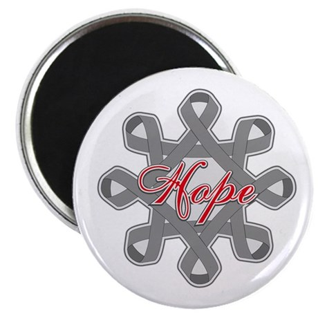 "Brain Cancer Hope Unity 2.25"" Magnet (100 pack)"