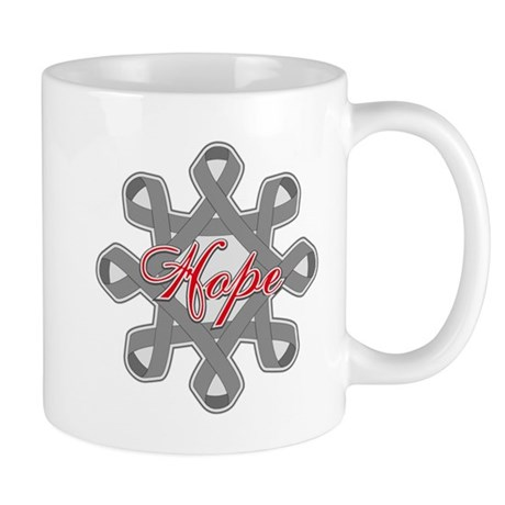 Brain Cancer Hope Unity Mug