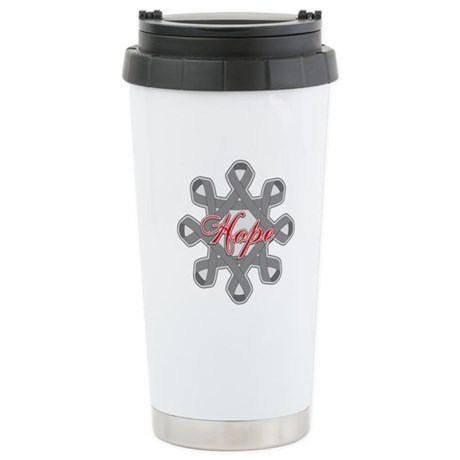 Brain Cancer Hope Unity Ceramic Travel Mug