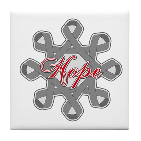 Brain Cancer Hope Unity Tile Coaster