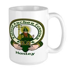 Hanley Clan Motto Mug