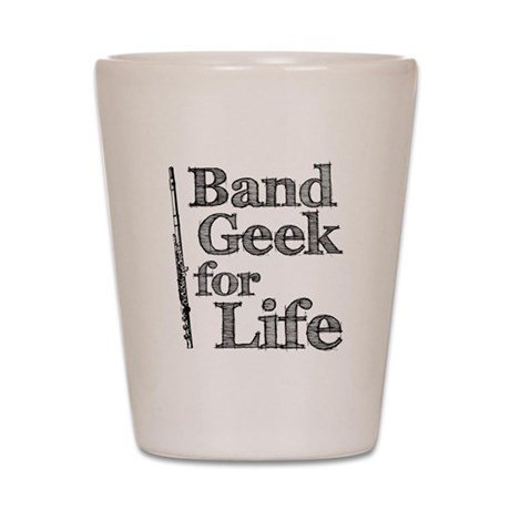 Flute Band Geek Shot Glass