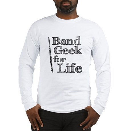 Flute Band Geek Long Sleeve T-Shirt