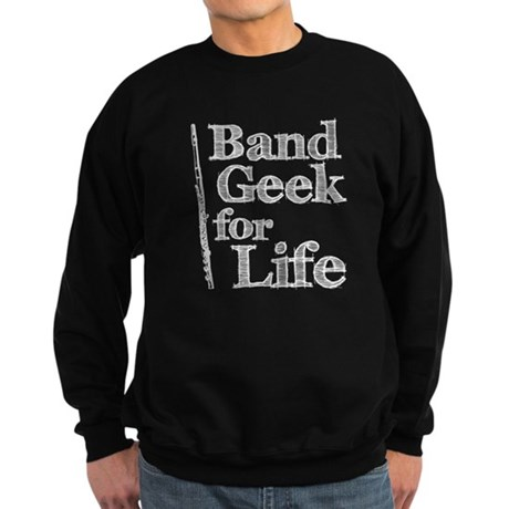 Flute Band Geek Sweatshirt (dark)