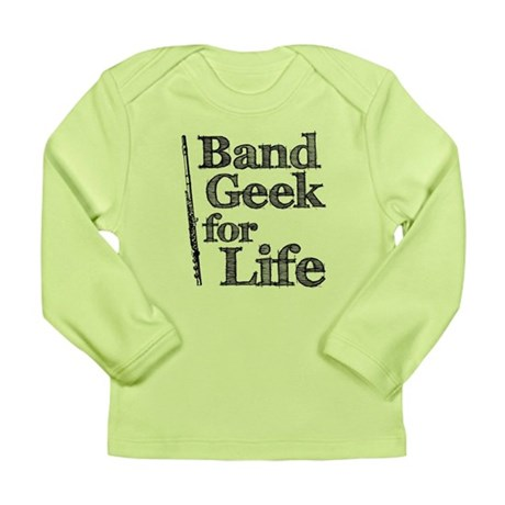 Flute Band Geek Long Sleeve Infant T-Shirt