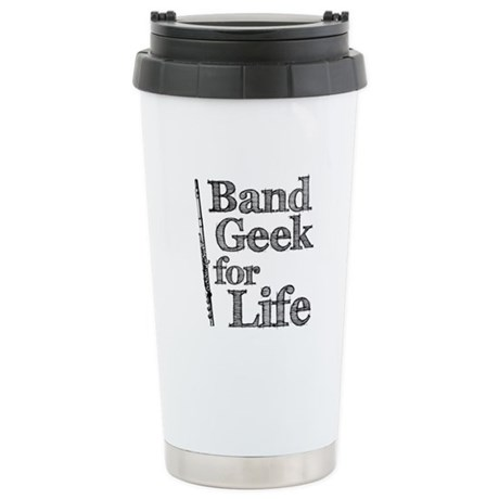 Flute Band Geek Ceramic Travel Mug