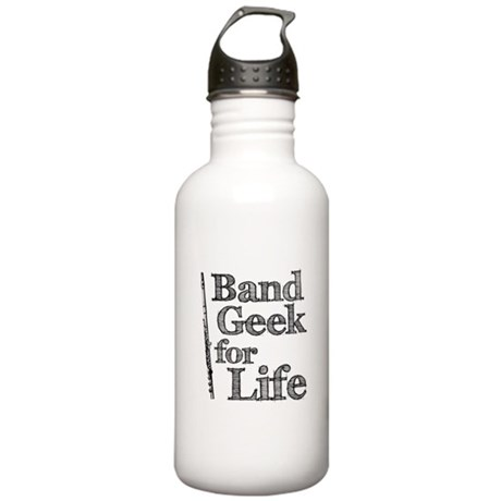 Flute Band Geek Stainless Water Bottle 1.0L