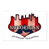 NuYoRicaN Postcards (Package of 8)