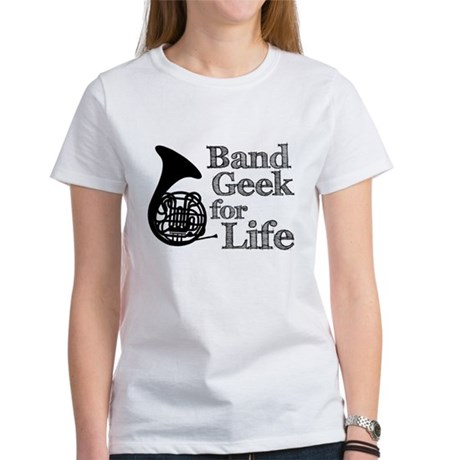 French Horn Band Geek Women's T-Shirt