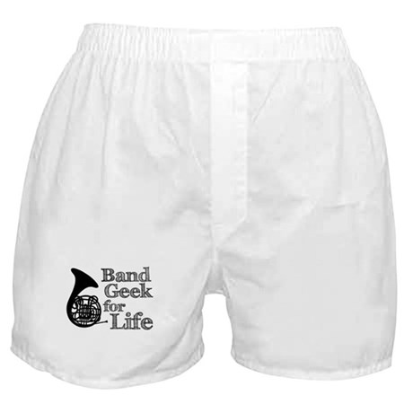 French Horn Band Geek Boxer Shorts