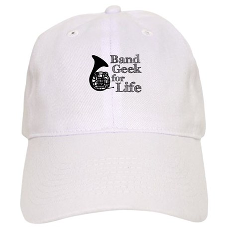 French Horn Band Geek Cap