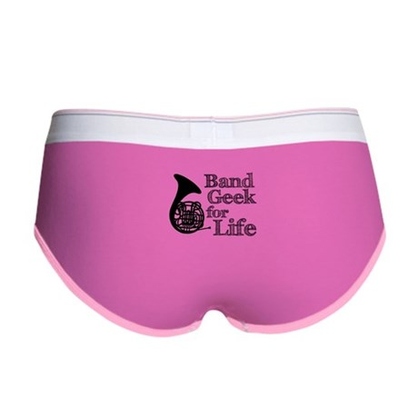 French Horn Band Geek Women's Boy Brief