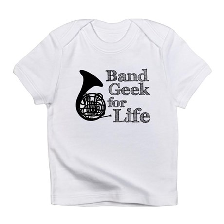French Horn Band Geek Infant T-Shirt