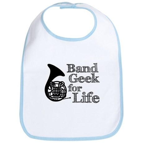 French Horn Band Geek Bib
