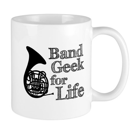 French Horn Band Geek Mug