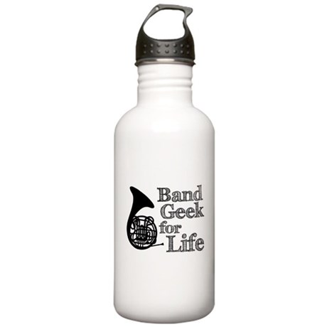 French Horn Band Geek Stainless Water Bottle 1.0L