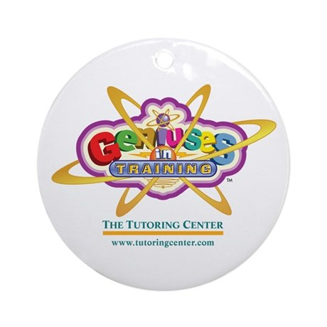 Genius In Training Ornament (Round)