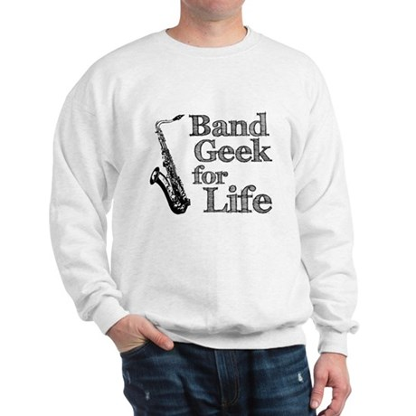 Saxophone Band Geek Sweatshirt