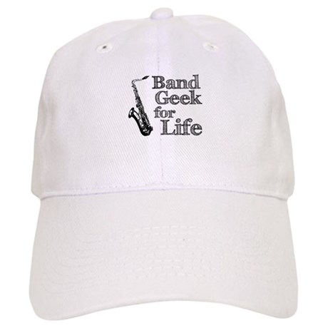 Saxophone Band Geek Cap
