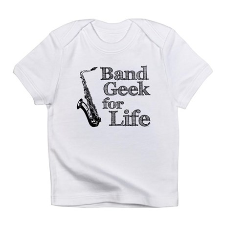 Saxophone Band Geek Infant T-Shirt