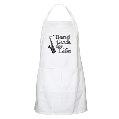 Saxophone Band Geek Apron