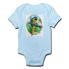 Macaw-BG Infant Creeper
