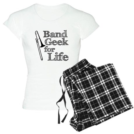Trombone Band Geek Women's Light Pajamas