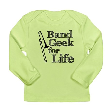 Trombone Band Geek Long Sleeve Infant T-Shirt