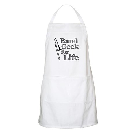 Trombone Band Geek Apron