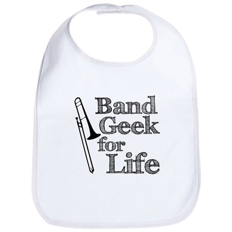 Trombone Band Geek Bib