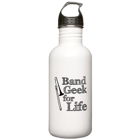 Trombone Band Geek Stainless Water Bottle 1.0L