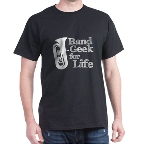Tuba Band Geek Dark T-Shirt