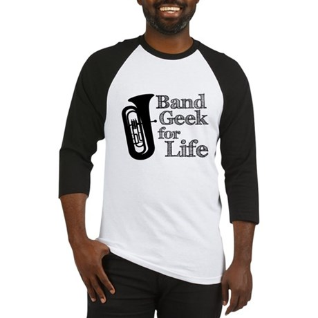 Tuba Band Geek Baseball Jersey
