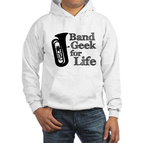 Tuba Band Geek Hooded Sweatshirt