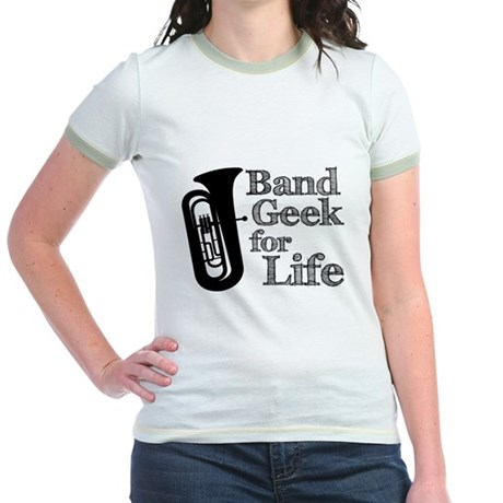 Tuba Band Geek Jr. Ringer T-Shirt
