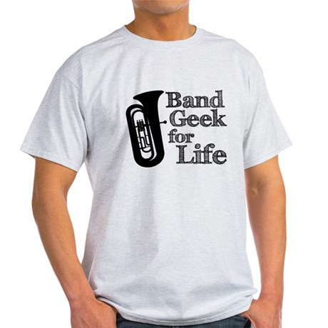 Tuba Band Geek Light T-Shirt