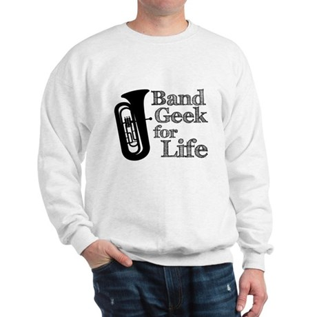 Tuba Band Geek Sweatshirt