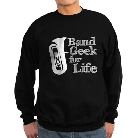 Tuba Band Geek Sweatshirt (dark)