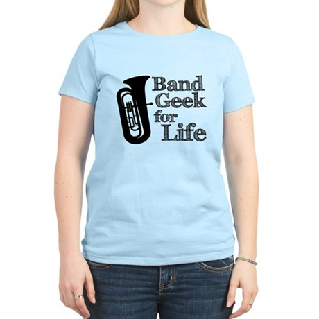 Tuba Band Geek Women's Light T-Shirt