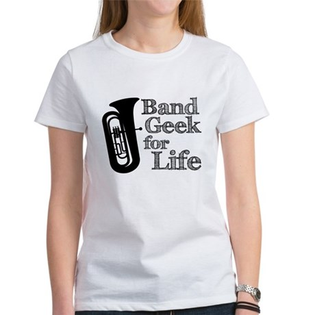 Tuba Band Geek Women's T-Shirt