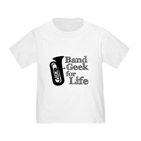 Tuba Band Geek Toddler T-Shirt