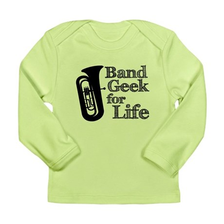 Tuba Band Geek Long Sleeve Infant T-Shirt