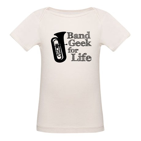 Tuba Band Geek Organic Baby T-Shirt