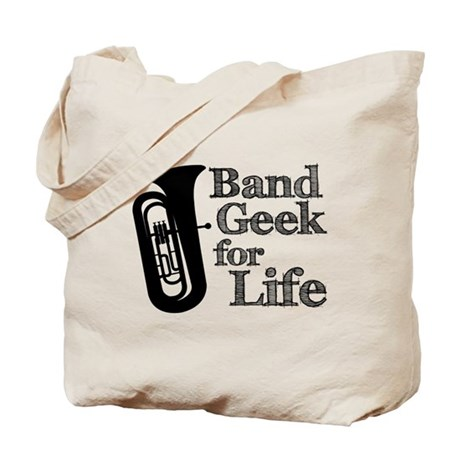 Tuba Band Geek Tote Bag