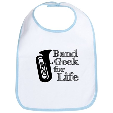 Tuba Band Geek Bib
