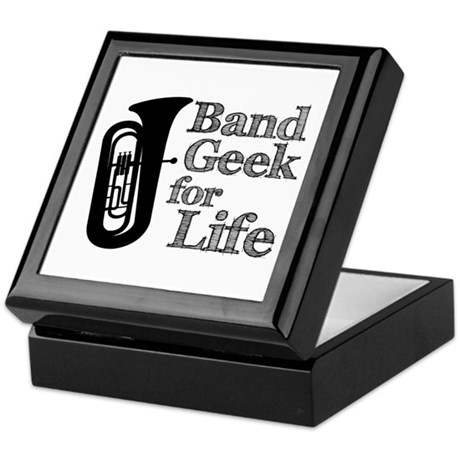 Tuba Band Geek Keepsake Box