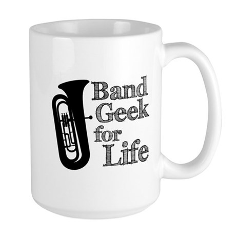 Tuba Band Geek Large Mug