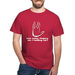Vulcan Salute Dark T-Shirt